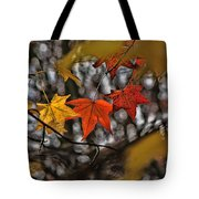 More Autumn Leaves Tote Bag