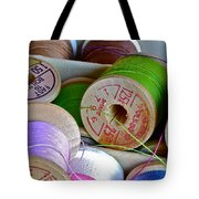 More Loose Threads Tote Bag