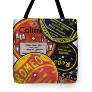 More Old Record Labels  Tote Bag