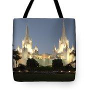 Mormon Cathederal San Diego 2 Tote Bag