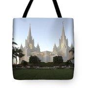 Mormon Cathederal San Diego Tote Bag
