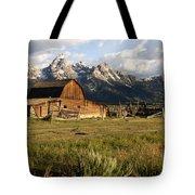 Mormon Row Barn Tote Bag
