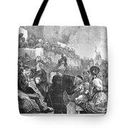 Mormon Service, 1871 Tote Bag