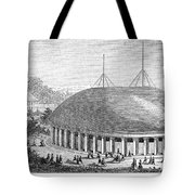 Mormon Tabernacle, 1870 Tote Bag