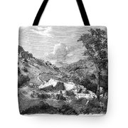 Mormons Emigrating, 1857 Tote Bag