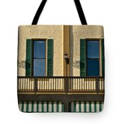 Morning Above The Bar Tote Bag