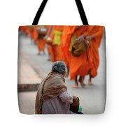 Morning Alms Tote Bag
