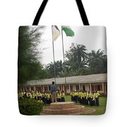 Morning Asembly  Tote Bag