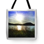 Morning At The Lake Tote Bag