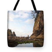 Morning Columns Tote Bag