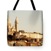 Sacre Coeur In A Summer Morning Tote Bag