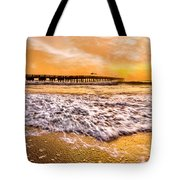 Morning Gold Rush Tote Bag