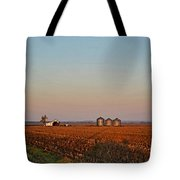 Morning In The Heartland Watercolor Photoart I Tote Bag