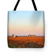 Morning In The Heartland Watercolor Photoart II Tote Bag