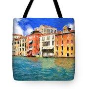 Morning In Venice Tote Bag