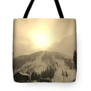Morning Light Tote Bag by Michael Cuozzo