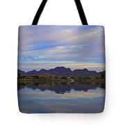 Morning Light On The River Tote Bag