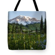 Morning Meadow Tote Bag