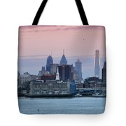 Morning On The Delaware River Tote Bag