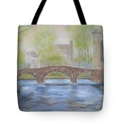 Morning On The Meuse Tote Bag