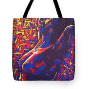 Morning Raise Tote Bag