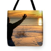 Morning Reverence Tote Bag