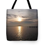 Morning Skies On The Chesapeake Tote Bag