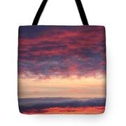 Morning Sky Portrait Tote Bag