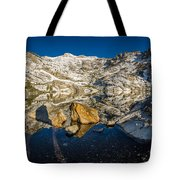 Morning Sun On Angel Lake Tote Bag