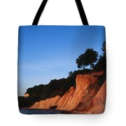 Morning View Of The White Cliffs Tote Bag