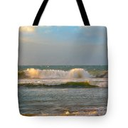 Morning Waves Tote Bag