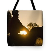 Morning Workout - D007929 Tote Bag by Daniel Dempster