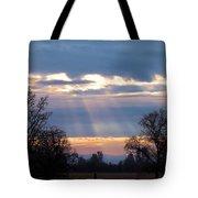 Mornings Heavenly Light Tote Bag