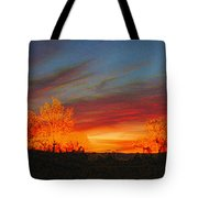 Morning's Magical Light Tote Bag