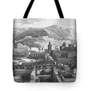 Morocco: Tetouan Tote Bag