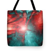 Morphing Thru Time Tote Bag by Linda Sannuti