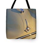 Morris Minor 1000 Hood Ornament Tote Bag