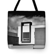 Morrison Window Bw Palm Springs Tote Bag