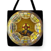 Mosaic Christ Tote Bag