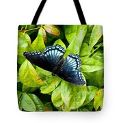 Mosaic Flutterby Tote Bag