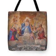 Mosaic In San Marco Square Venice Tote Bag