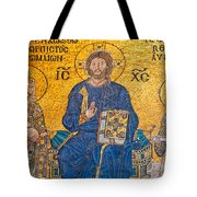 mosaic inside Hagia Sophia  Tote Bag