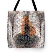 Mosaic Of Chest X-ray Tote Bag