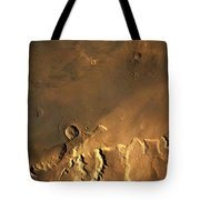 Mosaic Of Viking Orbiter Showing Tote Bag