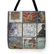 Mosaics Street At Birzeit Tote Bag