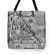 Moscow: Map, 17th Century Tote Bag