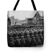 Moscow: Troop Review, 1957 Tote Bag