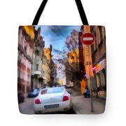 Moscow's Streets Tote Bag