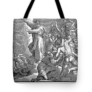Moses And The Red Sea Tote Bag