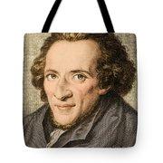 Moses Mendelssohn, German Philosopher Tote Bag